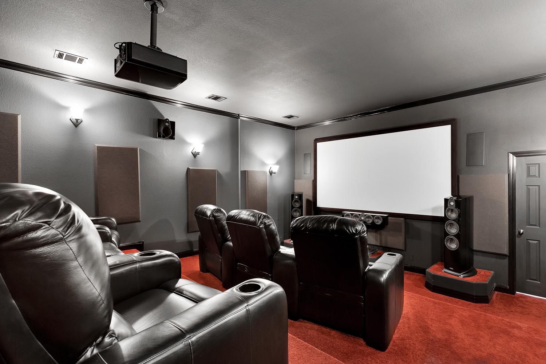 The Jones Theater Room