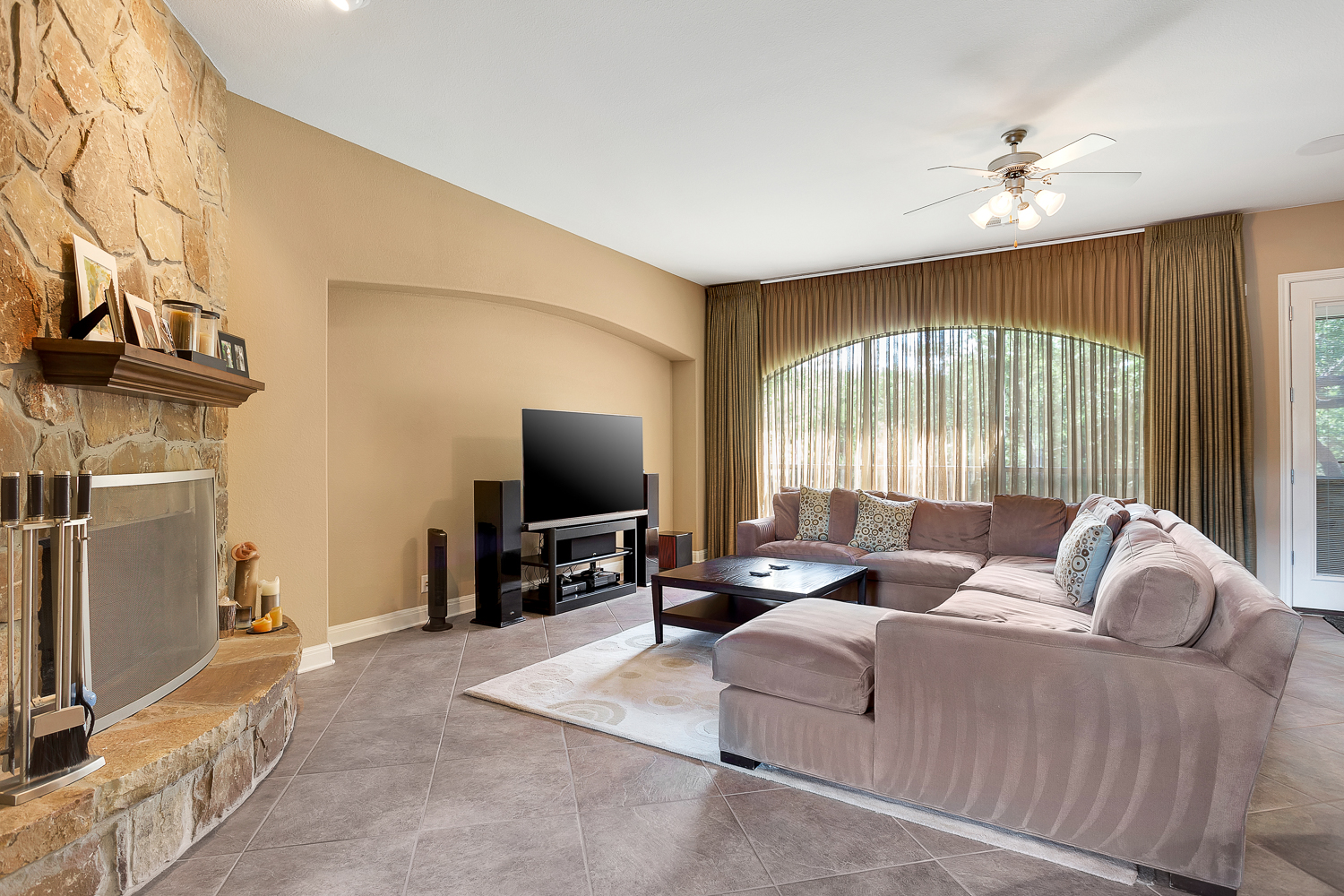 As you Enter the Formal Living Room