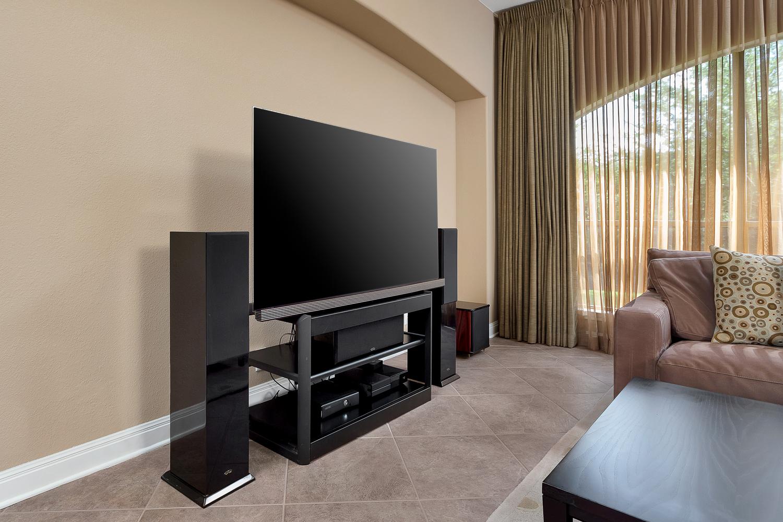 The Formal Living Room TV Location