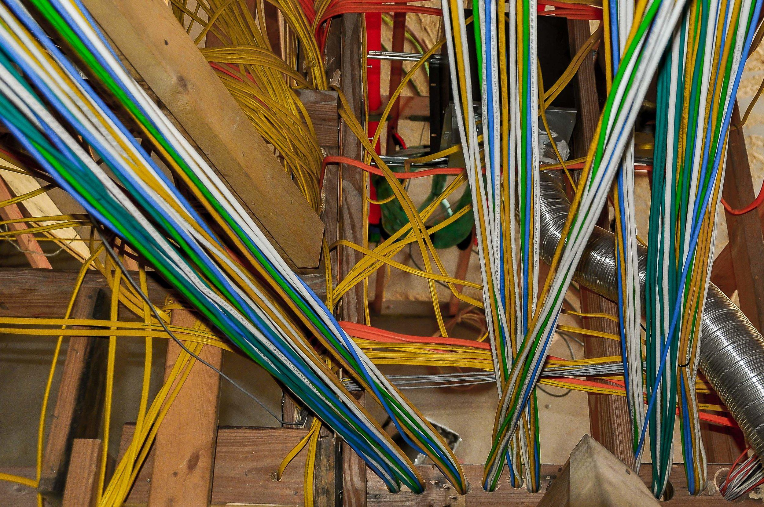Make the attic perfect Austin Spanish Oaks Prewire.jpg