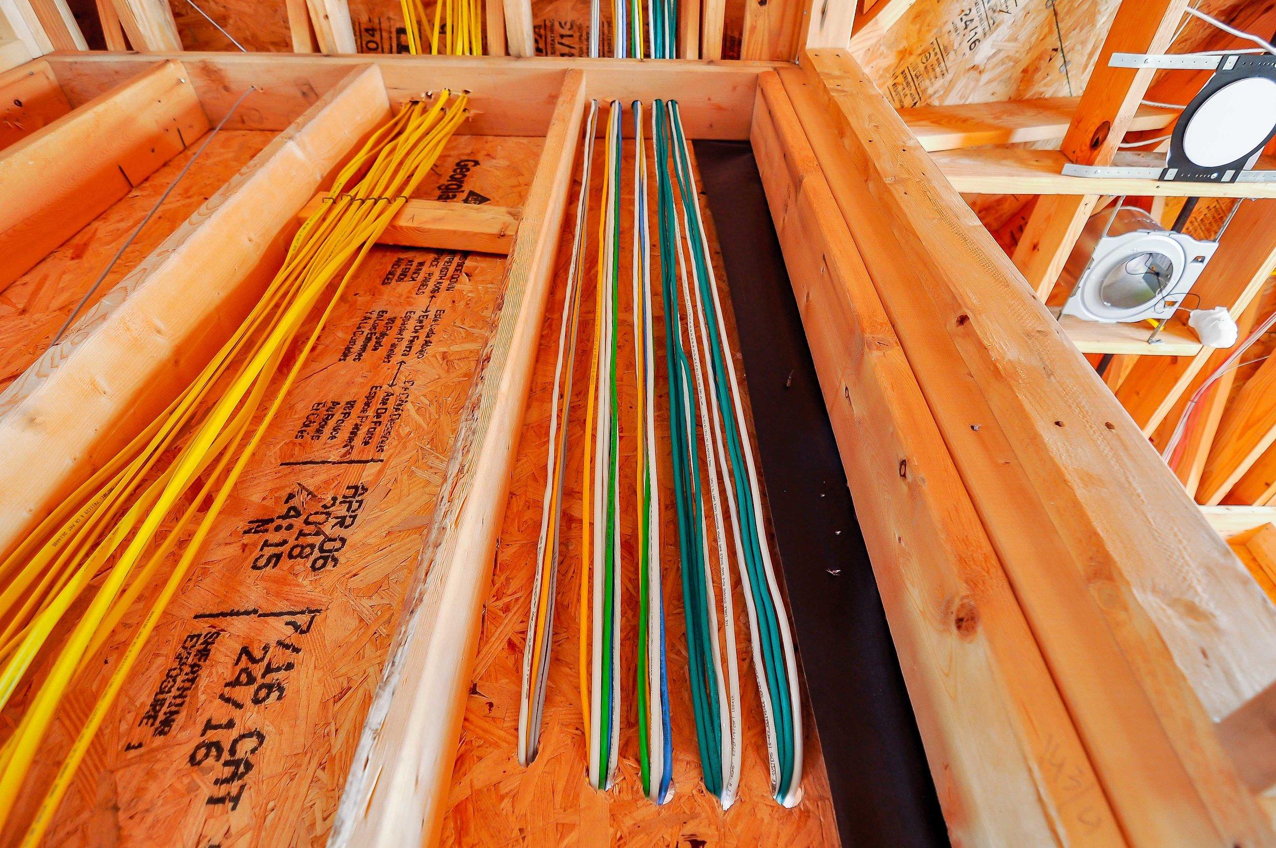 Perfect home wiring in this Austin Spanish Oaks Prewire.jpg