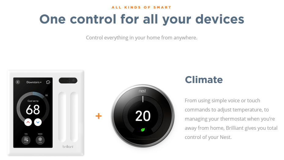 Its not JUST for Lights - Integrate and add voice control to your other existing smart home features including temperature comfort and music.