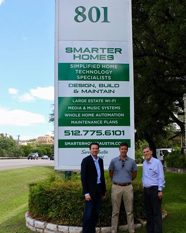 When you integrate and trust a company's product every day as we do with Remote Technologies Incorporated's control system and devices, it's a real pleasure to actually meet the people behind it all.  Today we sat down with Edward McConaghay, CEO, and Robert Choate, Director of Business Development. Thanks so much for the visit you guys!