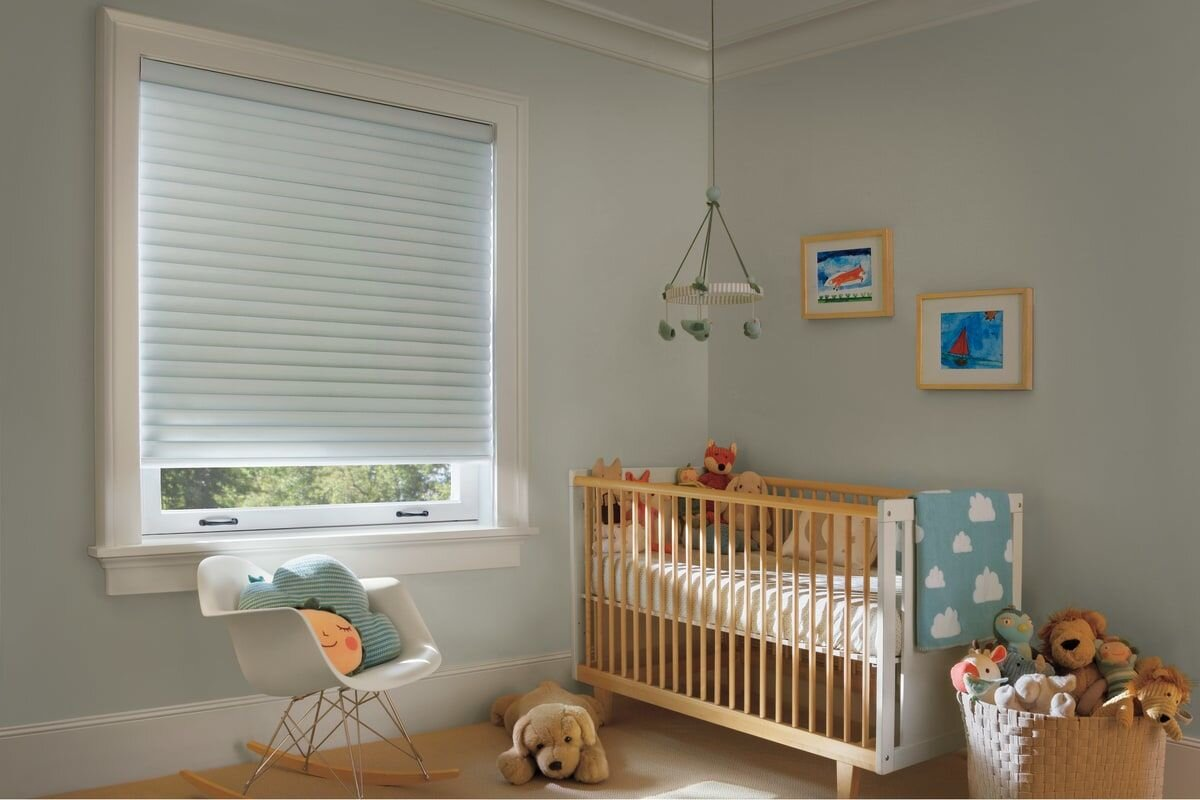 shades for the baby's room