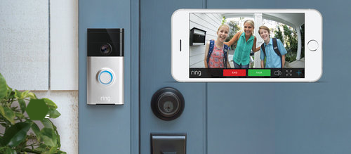 Video doorbells are a great way to keep in touch with whats happening at home while you are away!