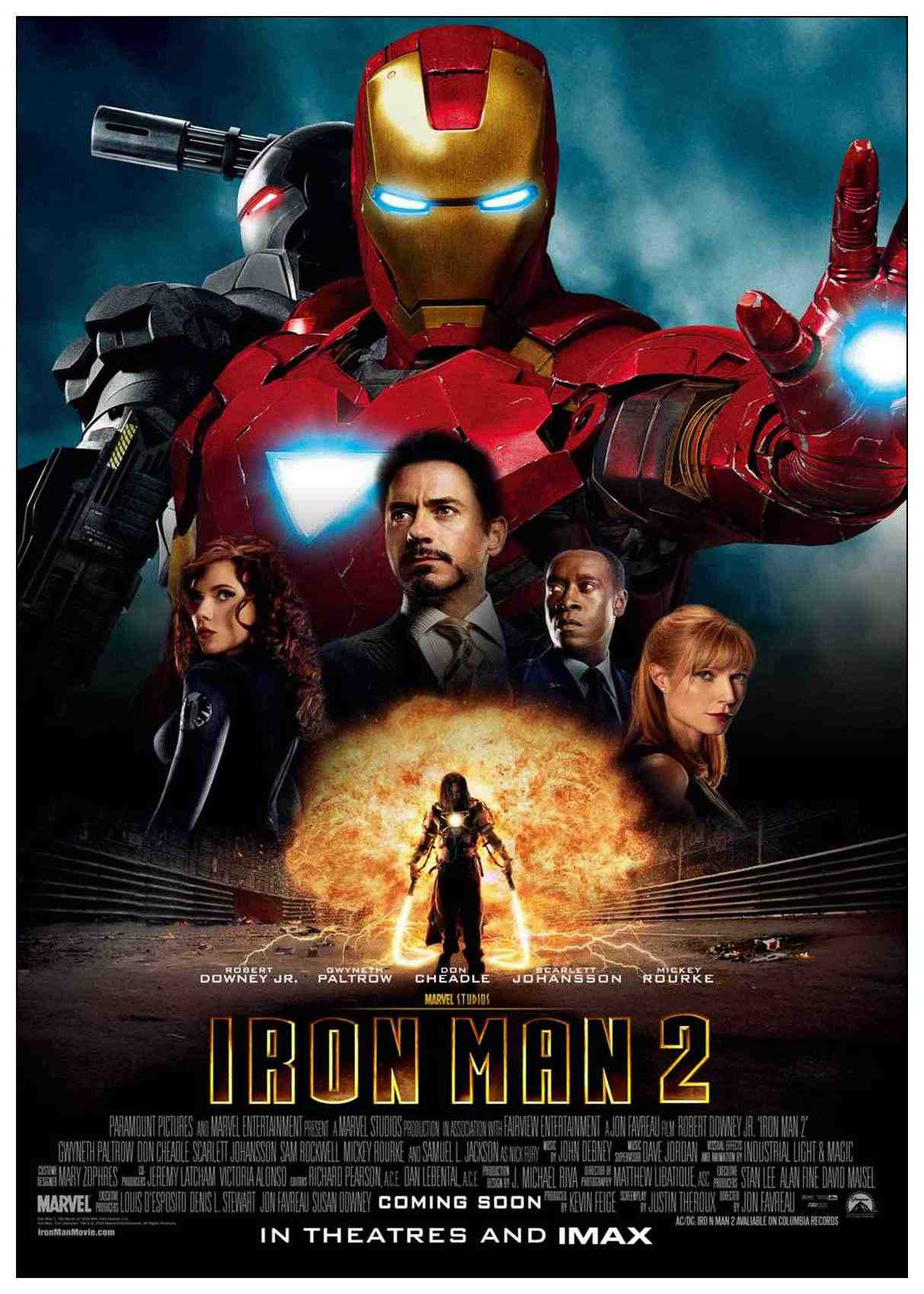 #21 Iron Man 2 - I hated the bird. I hated the plot. Seriously, dying of ARC reactor poisoning is a 3rd movie plot, not a 2nd! RDJ is charismatic, so, that was fun at least. - .