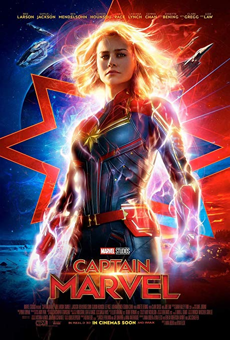 #17 Captain Marvel - My review (CLICK HERE) sums up my feelings on this movie. I felt that it reached for greatness, but didn't have a seasoned hand to get it there. But, there a certain charm to Superhero movie: The Movie. -