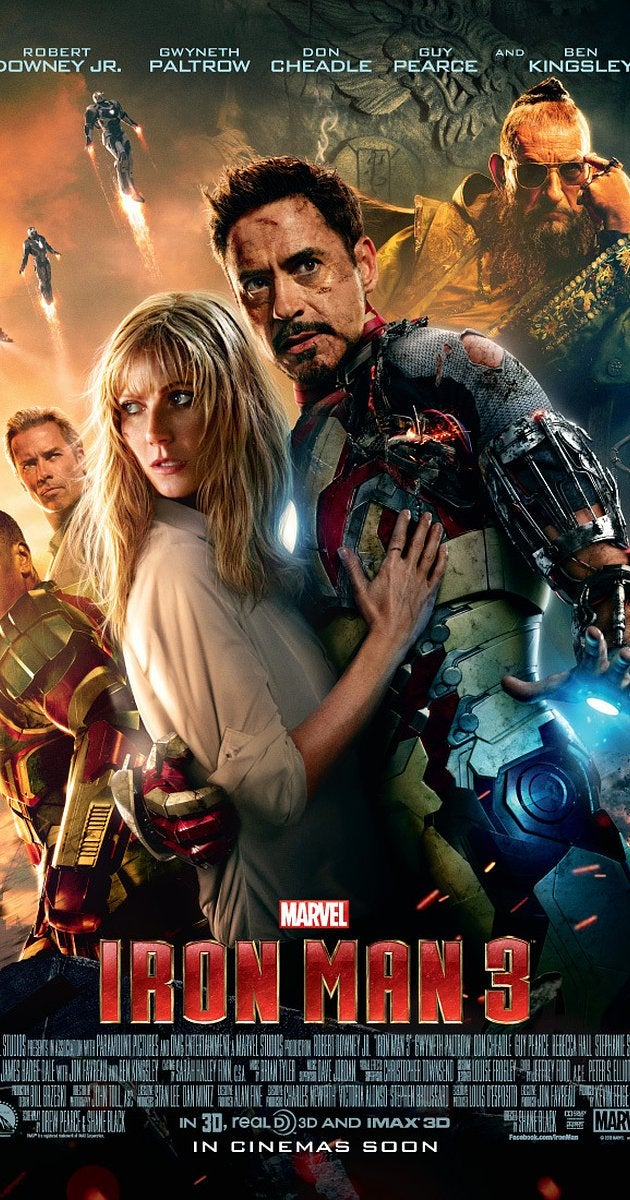 #14 Iron Man 3 - This movie, sigh. It breaks so much established continuity. Ran out of power? What does that thing in his chest do then?! Anyway, I liked the comedy & action. Mandarin twist was fine. -