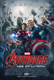 #13 Avengers: Age of Ultron - I kinda liked this flick. I liked the banter. I liked the action. I liked the Scarlet Witch a lot. Some folks give it crap, but there is a good chance they're a-holes. :) -