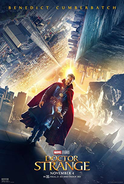 #12 Doctor Strange - Goatee? Arrogant? Yes. Tony? No. Something about this generic-yet-trippy origin story makes me smile. Maybe because he's a chump through most of it? Sadly, Rachel McAdams was wasted -