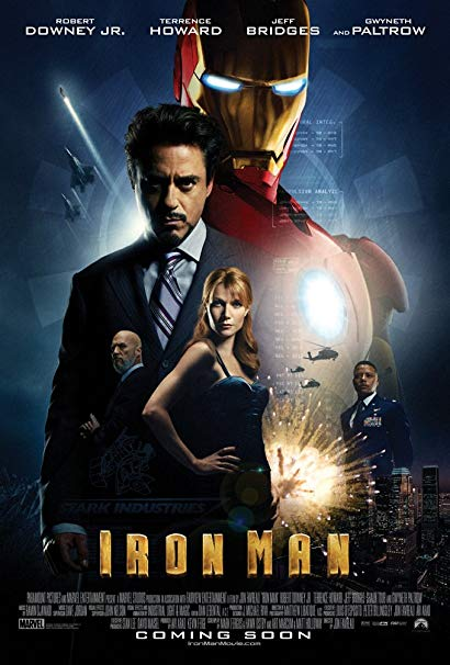 #11 Iron Man - Not in the top 10?! Sorry? Blame the app I used. I do love this movie. The entire MCU is the Ballad of Tony Stark. But, come on, it's a guy in a suit punching a villain in a similar suit. But, it was funny and had great action! -
