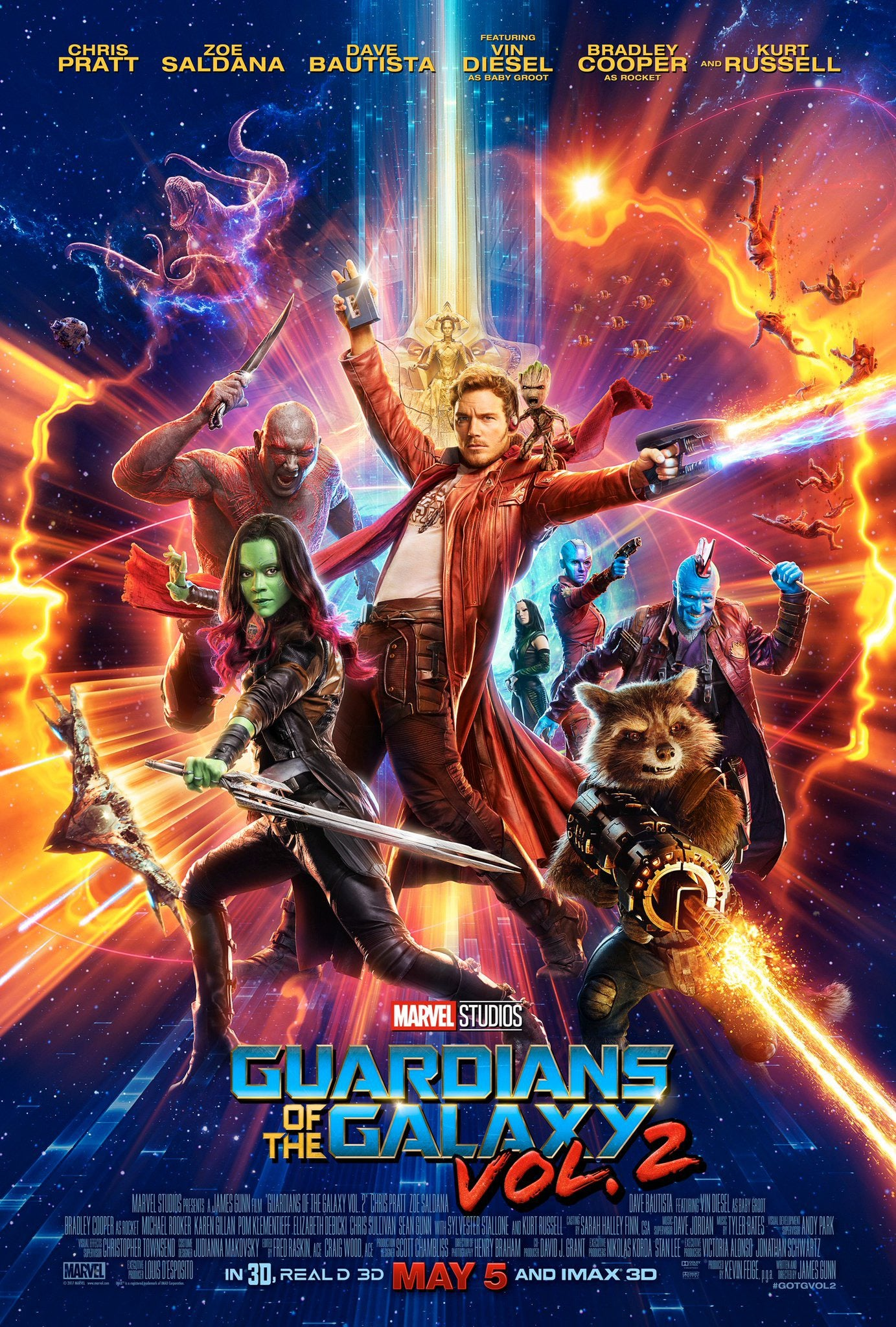 #10 Guardians of the Galaxy 2 - I love me an ensemble, and the Guardians are great. Now, full disclosure, I didn't care about Ego/Peter's arc. But, it got me to Rocket/Yondu & Peter/Yondu. And THAT hit me in the feels. Which is why it cracks the top 10. -