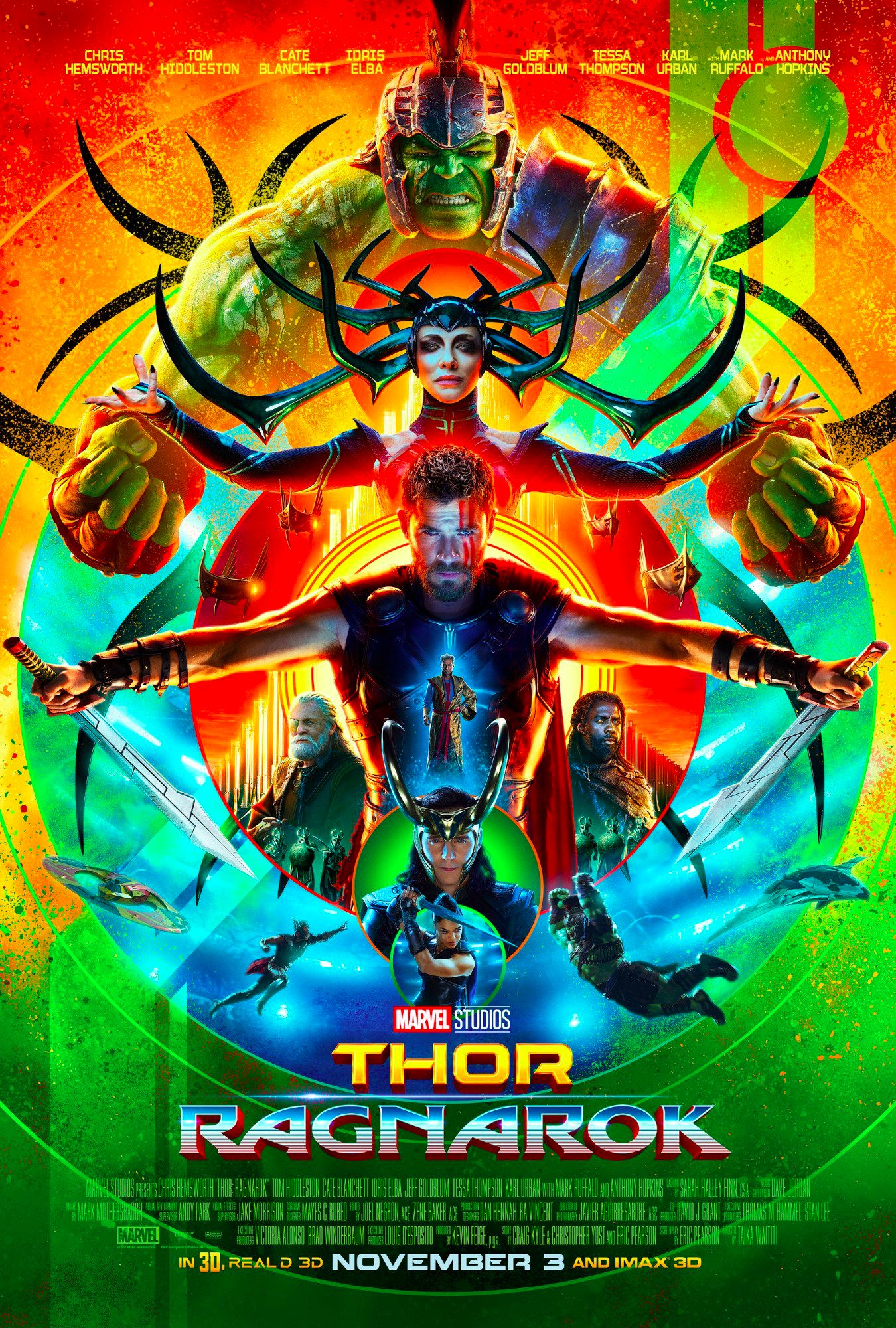 #8 - Thor: Ragnarok - What a remarkable tonal shift. I laughed. I had fun. I threw up the devil horns to Immigrant's Song . . . both times. There were some dumb things, and it broke continuity. But man, it was pure fun. -