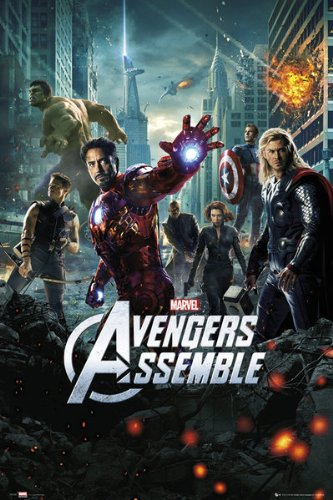 #6 Avengers - Still, one of the best MCU flicks with great team chemistry, dialogue, action, humor and heart. And, without a doubt, the WORST Captain America uniform. See there in the poster how they hide him behind Thor? -