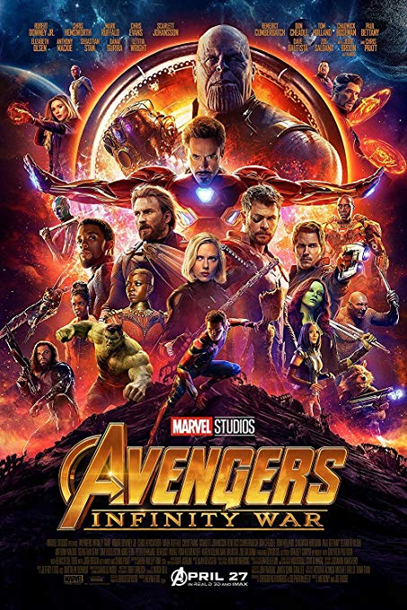 #5 Avengers: Infinity War - The Empire Strikes Back of the MCU. Not only a great job juggling so many characters, but great drama and fun to watch. Sure, Pete dissolving is sad. But RDJ wiping the Spider-dust away was a metaphor for all Stark's goals and efforts. A man seeing ultimate failure. Bravo. -