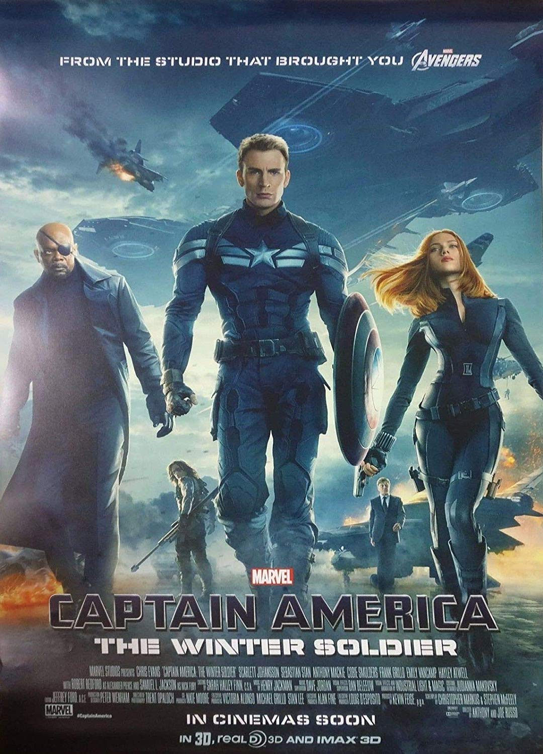 #1 Captain America: The Winter Soldier - Wow. To think the directors of this movie used to make Community episodes. This flick is an amazing call back to the classic spy thriller. But, amid the cat and mouse games, the human element was always there, keeping things personal, grounded, and in short: the BEST (imo) MCU movie to date. -