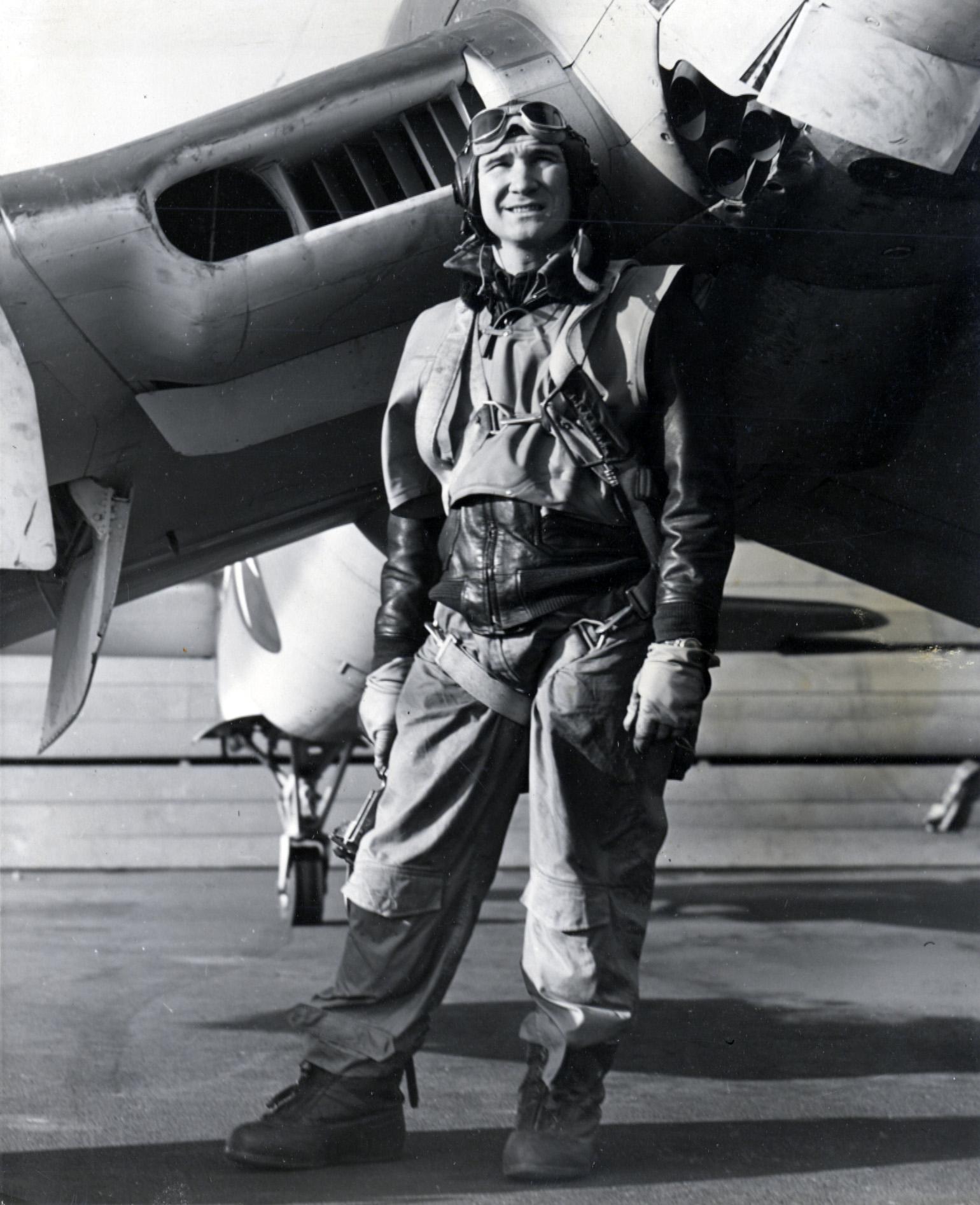 Walter J Koladza – Test pilot in the Corsair.