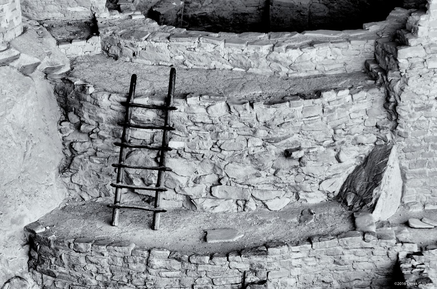 Ladder at Cliff Palace