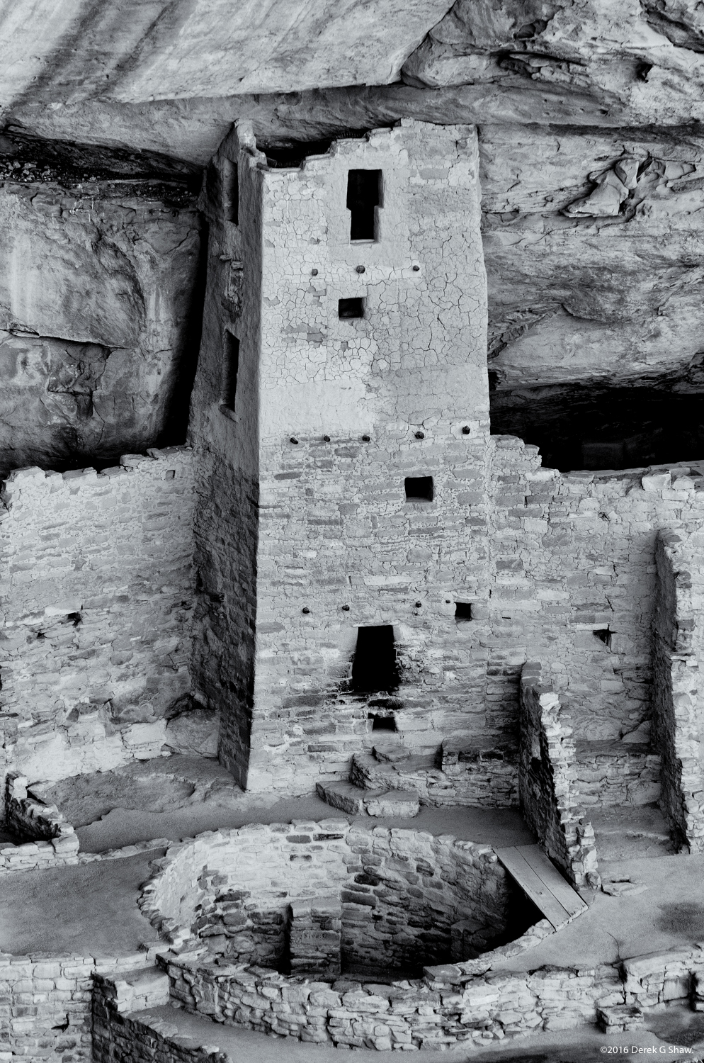 Cliff Palace Square Tower