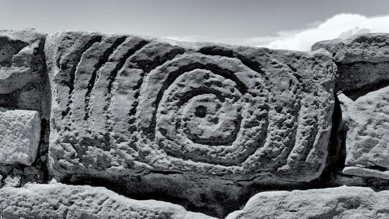 Spiral Symbol at Far View Site