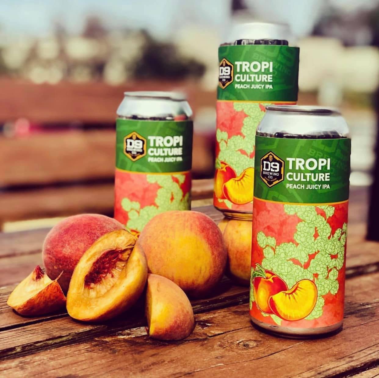D9 Tropiculture Peach Jucy IPA