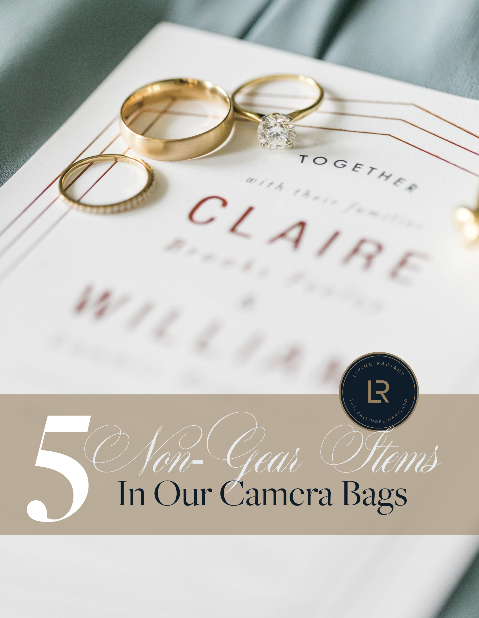 5 Non-Gear Items In Our Camera Bags