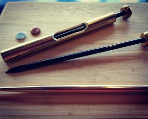 Common  shonishin  tools. (Tools are lightly tapped or brushed against the skin and not inserted)