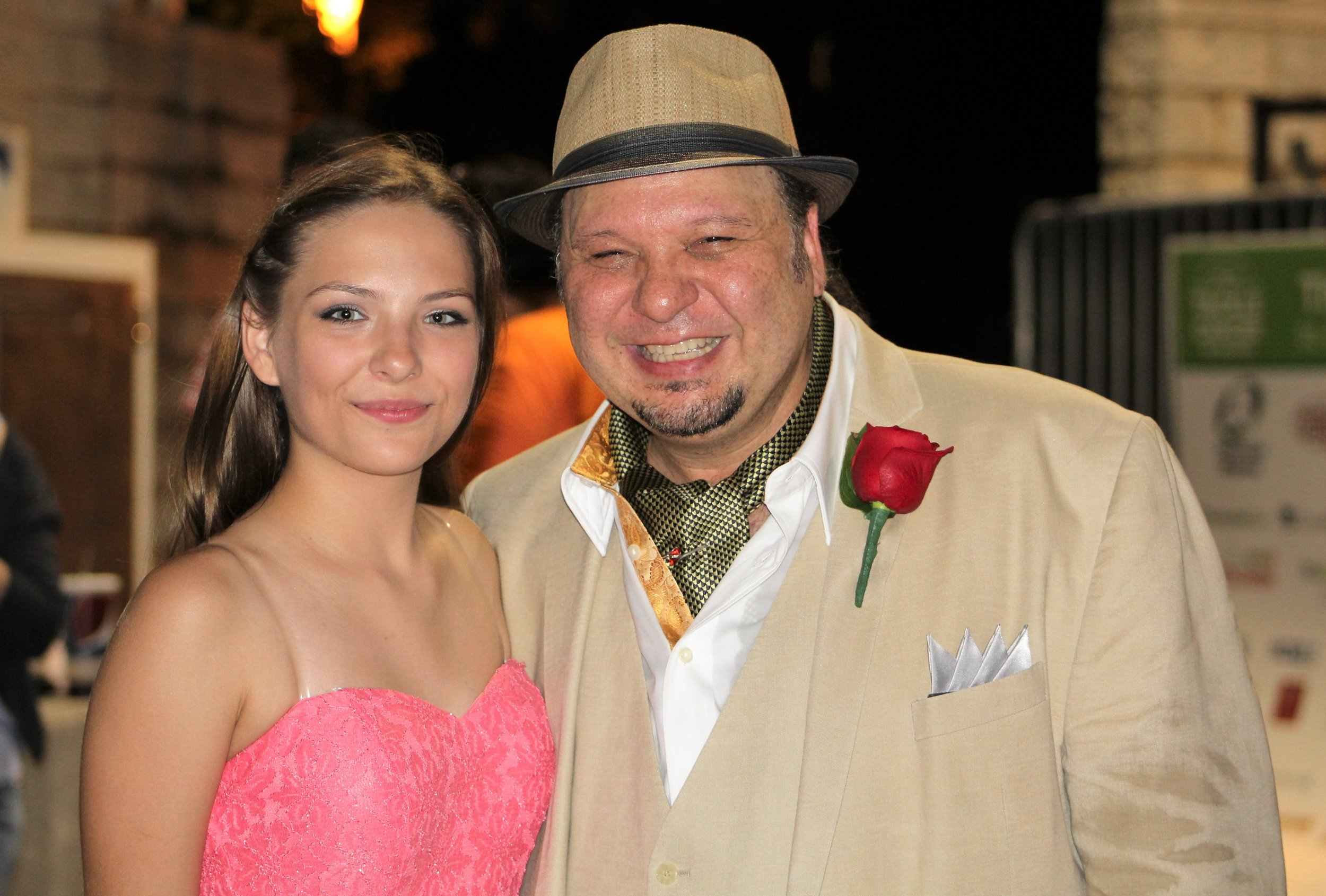 With M. Castaldo