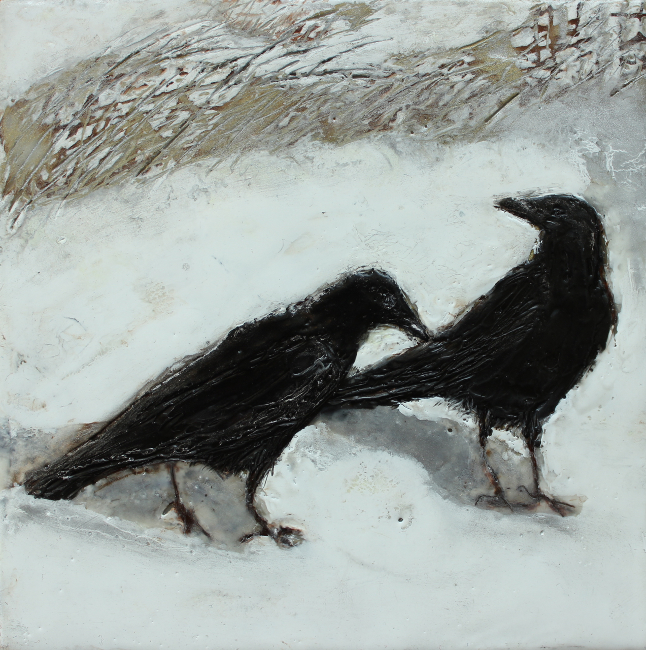 Winter Crows 1