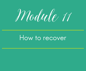Module 11. Oops I ate broccoli - how to recover from a FODMAP f-up