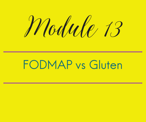 Module 13: FODMAP vs Gluten: Coming soon to a theatre near you. Bonus trailer for upcoming sequel: FODMAP vs Mothra vs Godzilla.