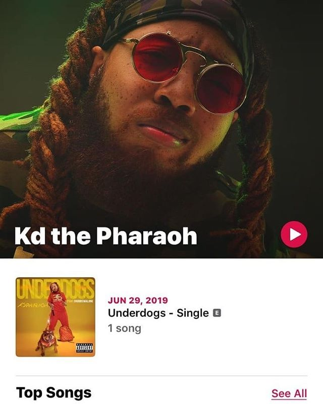 """Search """"KD The Pharaoh """" On Every Platform There is 💪 I Need Y'all To Jam All My Shit 🙏 Take A Chance & Listen If You Fwm 🙌 If You Don't It's All Good 💪Sometime No Support is The Best Support But if You Do Support I Glady Appreciate It 🙏🙏🙏❤❤"""