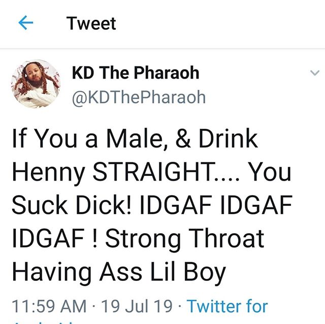 Y'all Drink That Shit For The Trend 🤦♂️