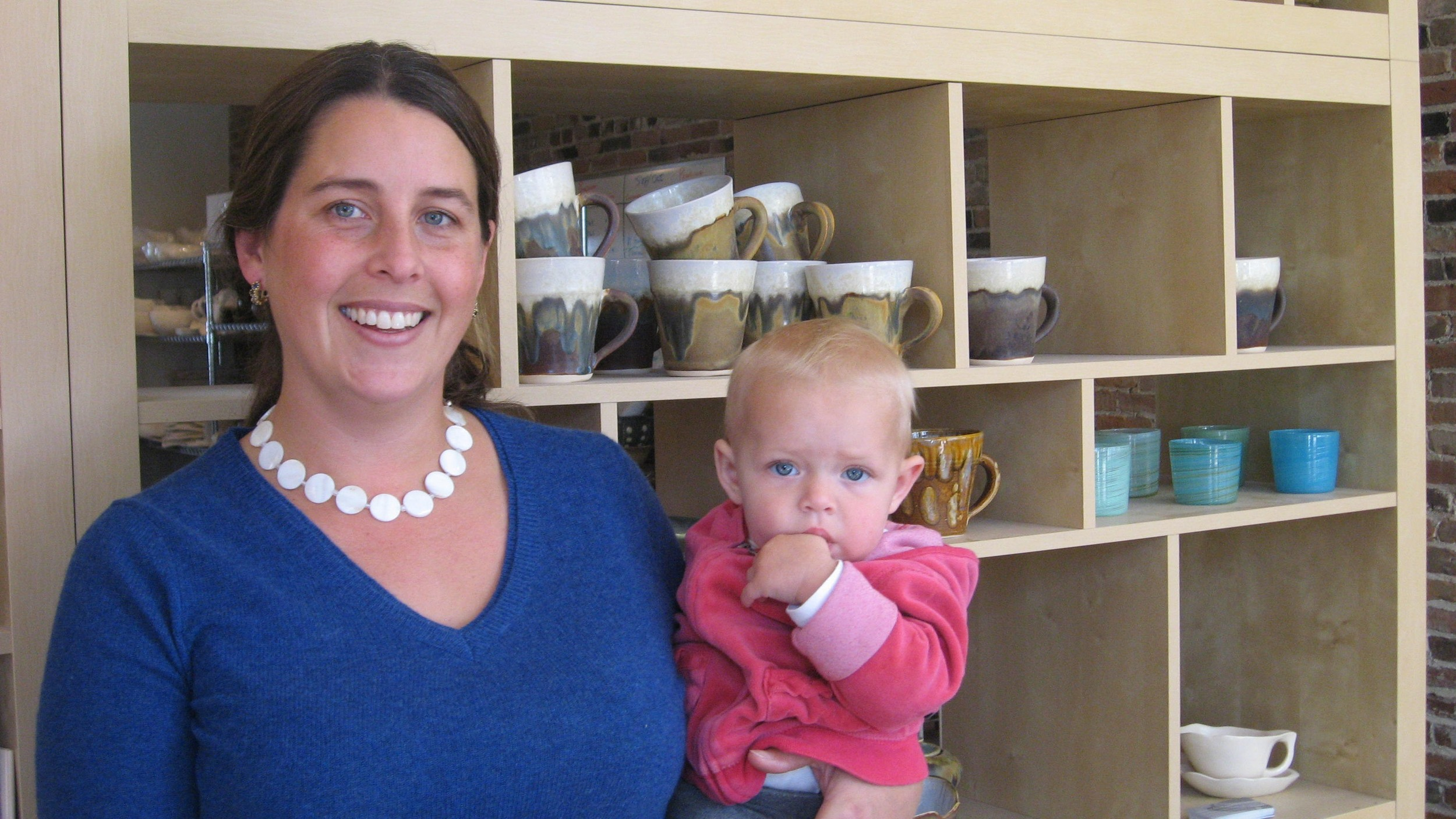 <b>The Forecaster</b><br/>Yarmouth Ceramics Business a Dream Come True