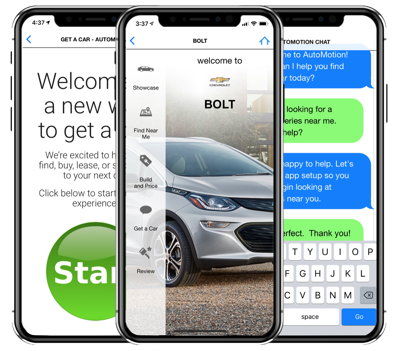 Get a Car App - Coming soon to the Apple App Store