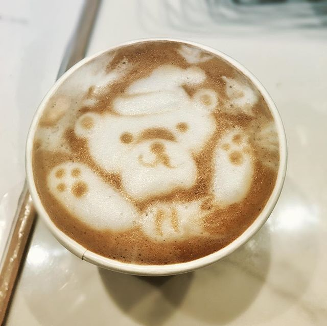 What would we do without you coffee? ☕️☕️☕️ 🐻#nationalcoffeeday #CherokeeFeelsGood