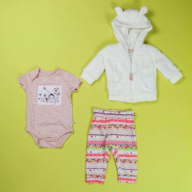 So ready for cooler weather 🍁🐱 Shop this baby set at @walmart! #CherokeeFeelsGood