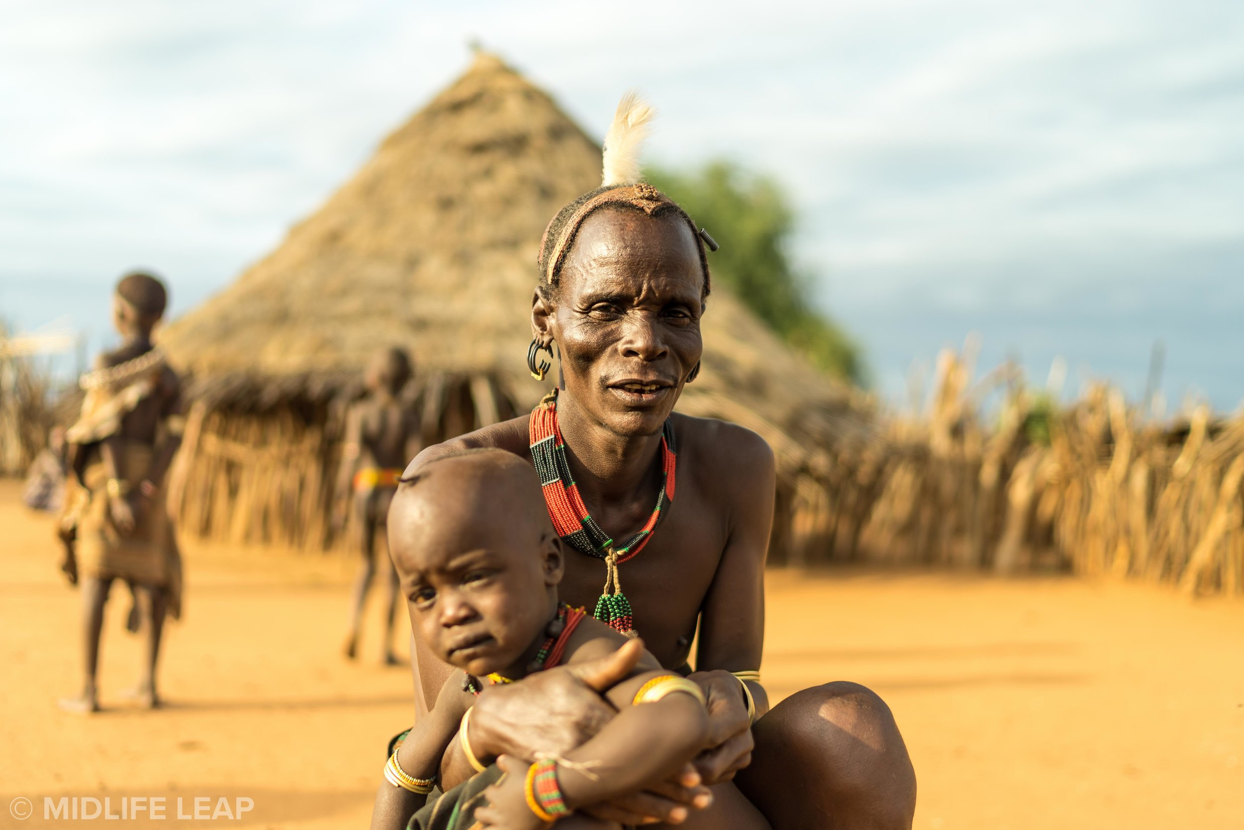 The Chief of the Hamar Tribe