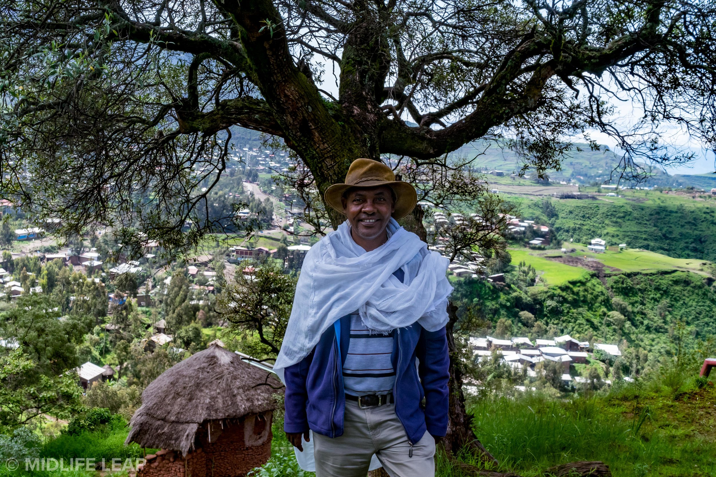 Achenef Engdaw, the best guide in Lalibela!