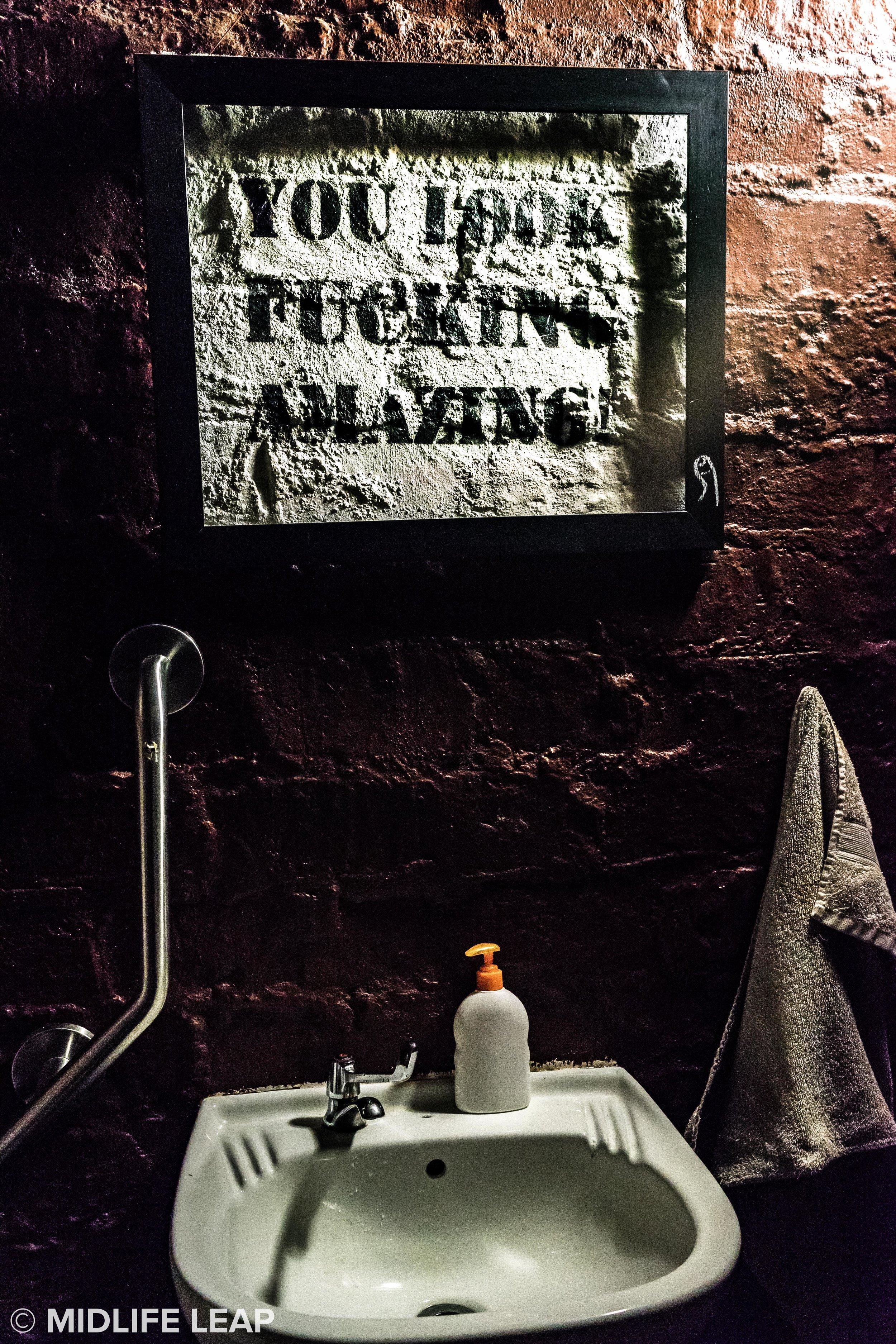 Best. Bathroom. Mirror. Ever.
