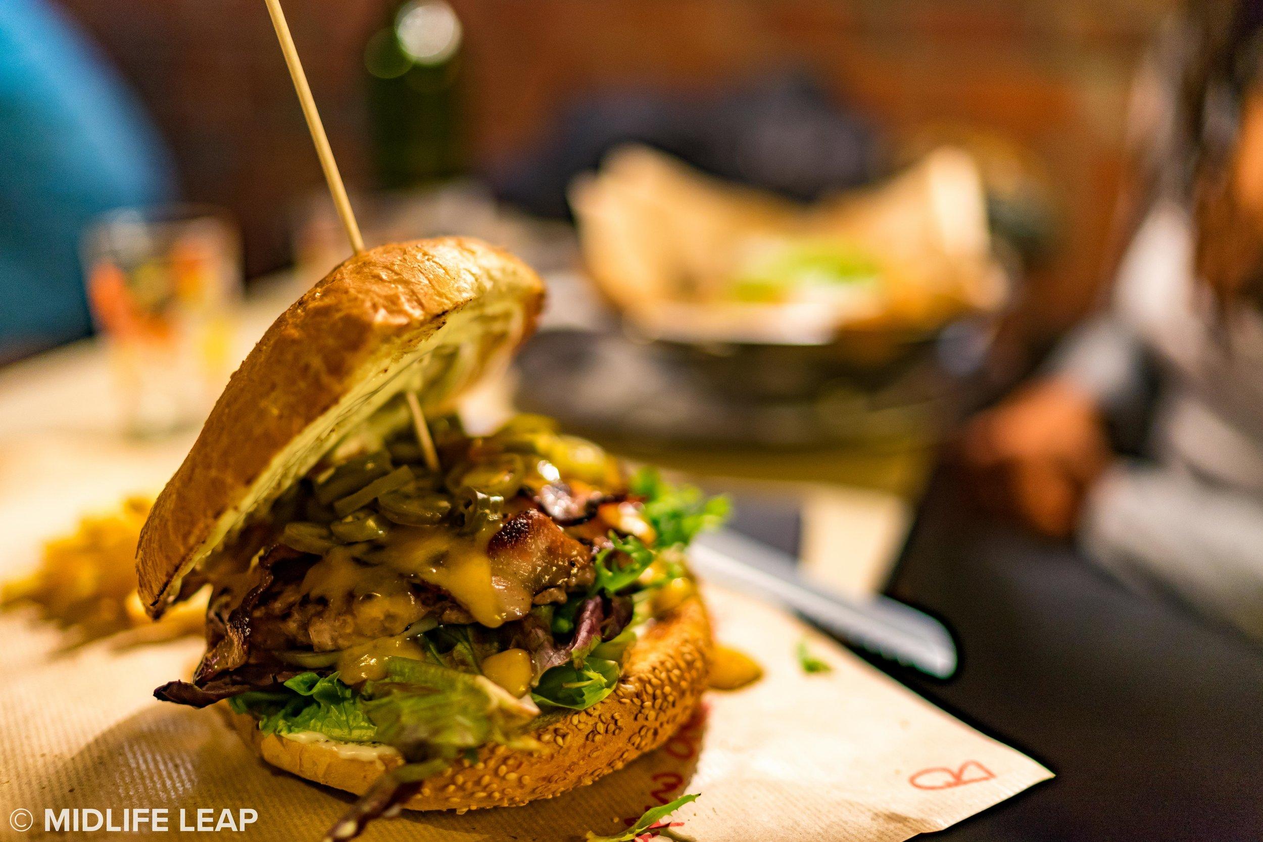 The jalapeno nacho cheese burger. YUM
