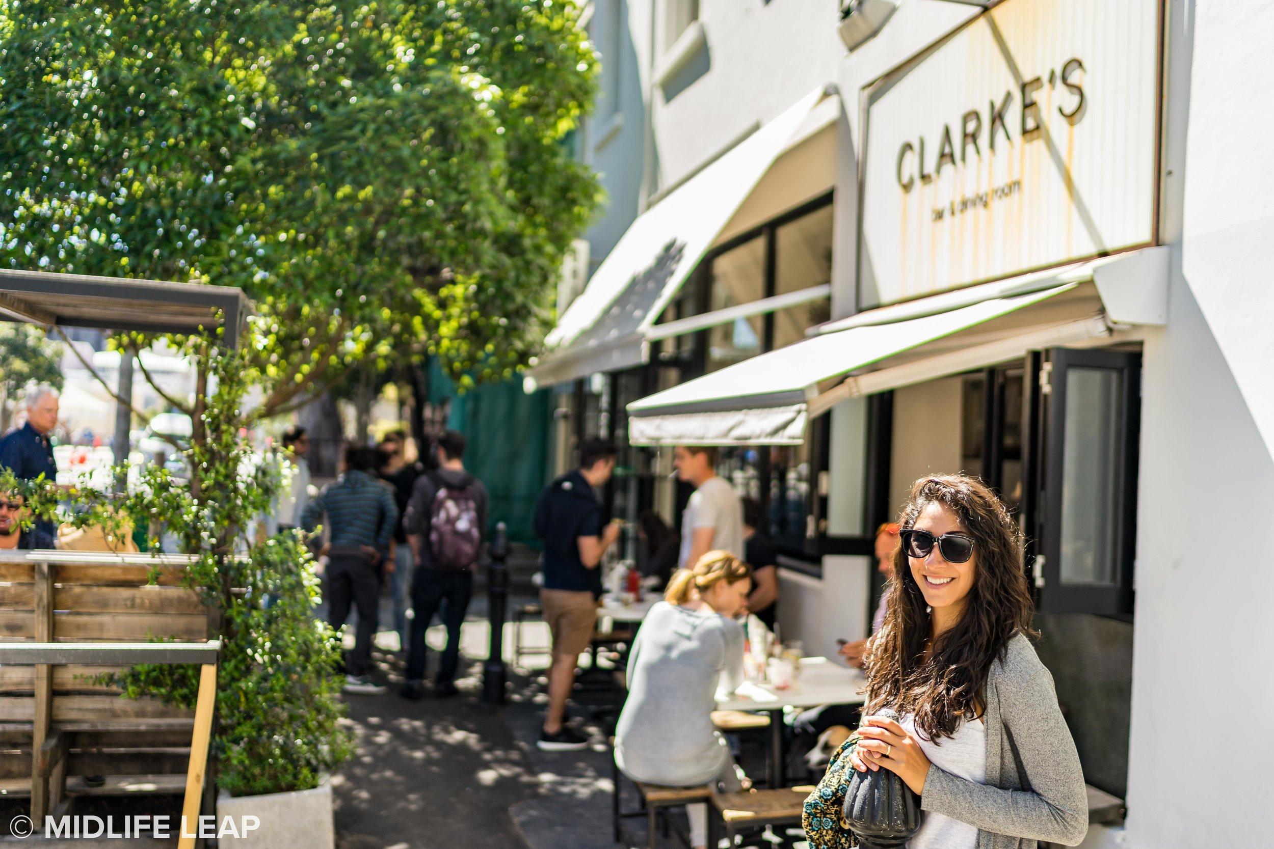 My favorite lunch spot, Clarke's!