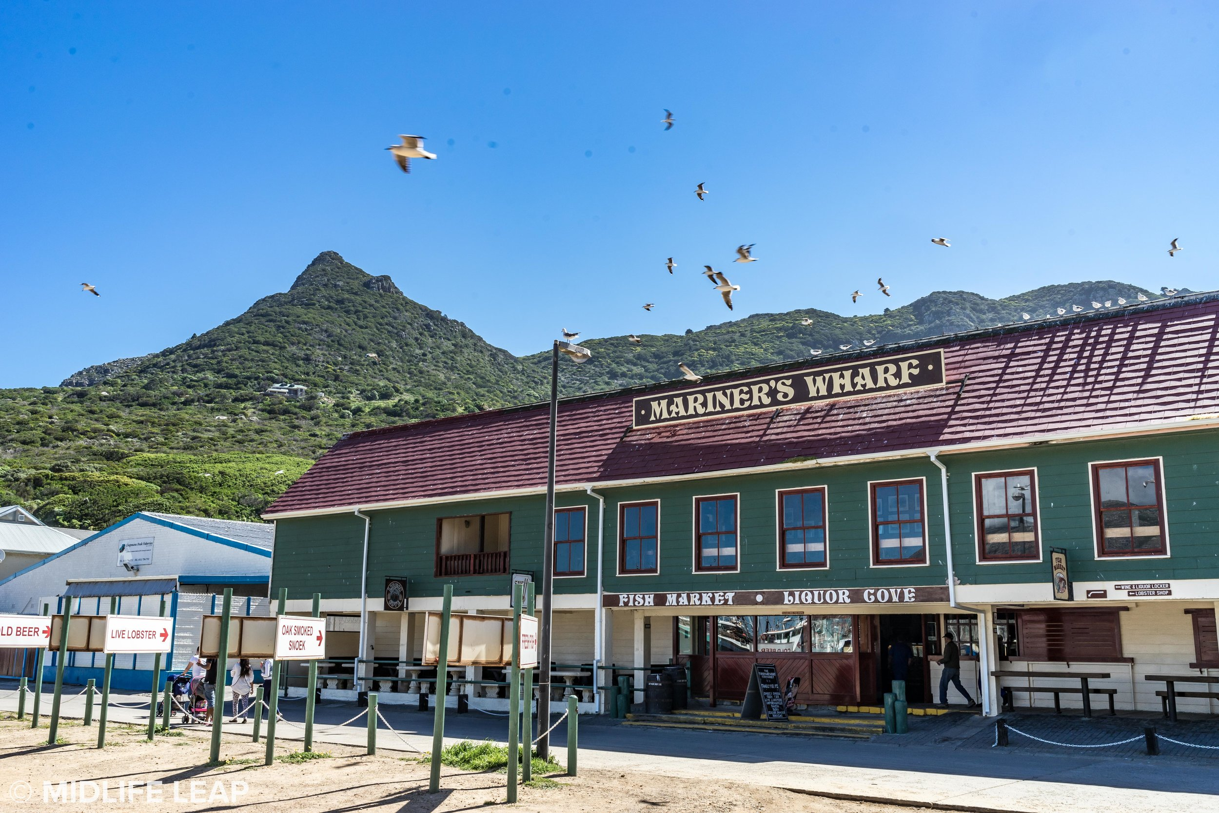 The best fish & chips at Mariner's Wharf, Hout Bay