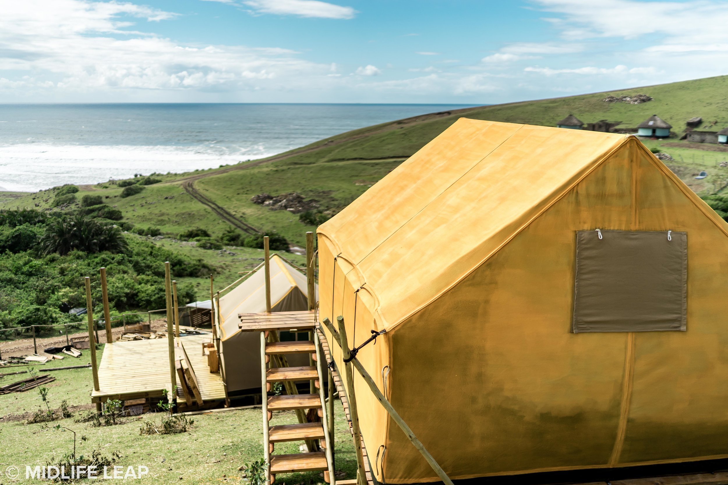 The two tents available at Wild Lubanzi