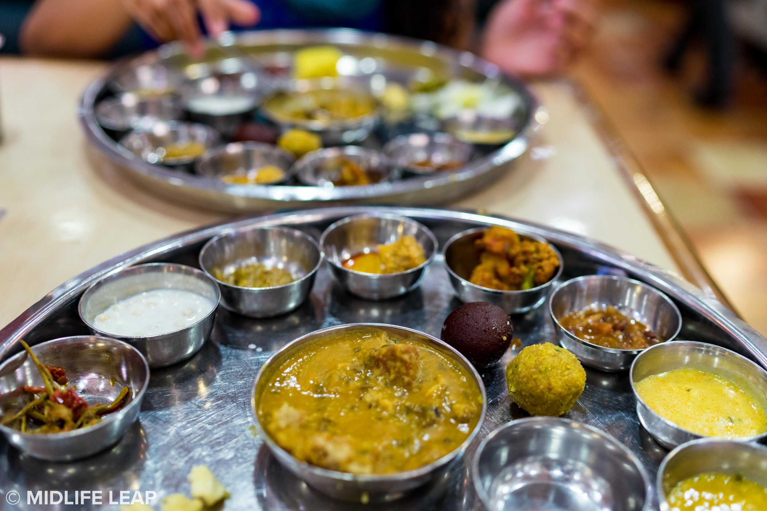 Get that thali special!