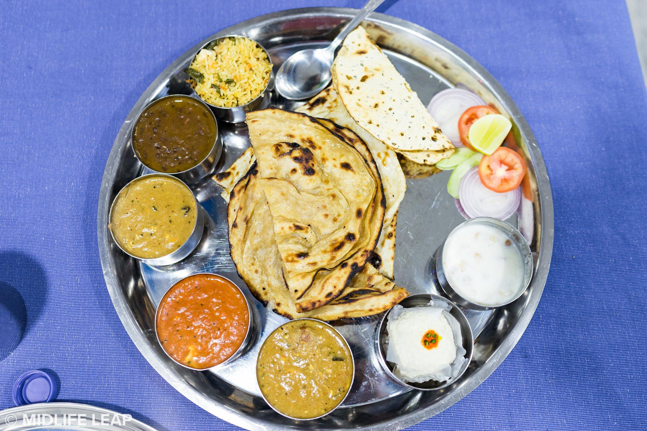 The best thali in Varanasi