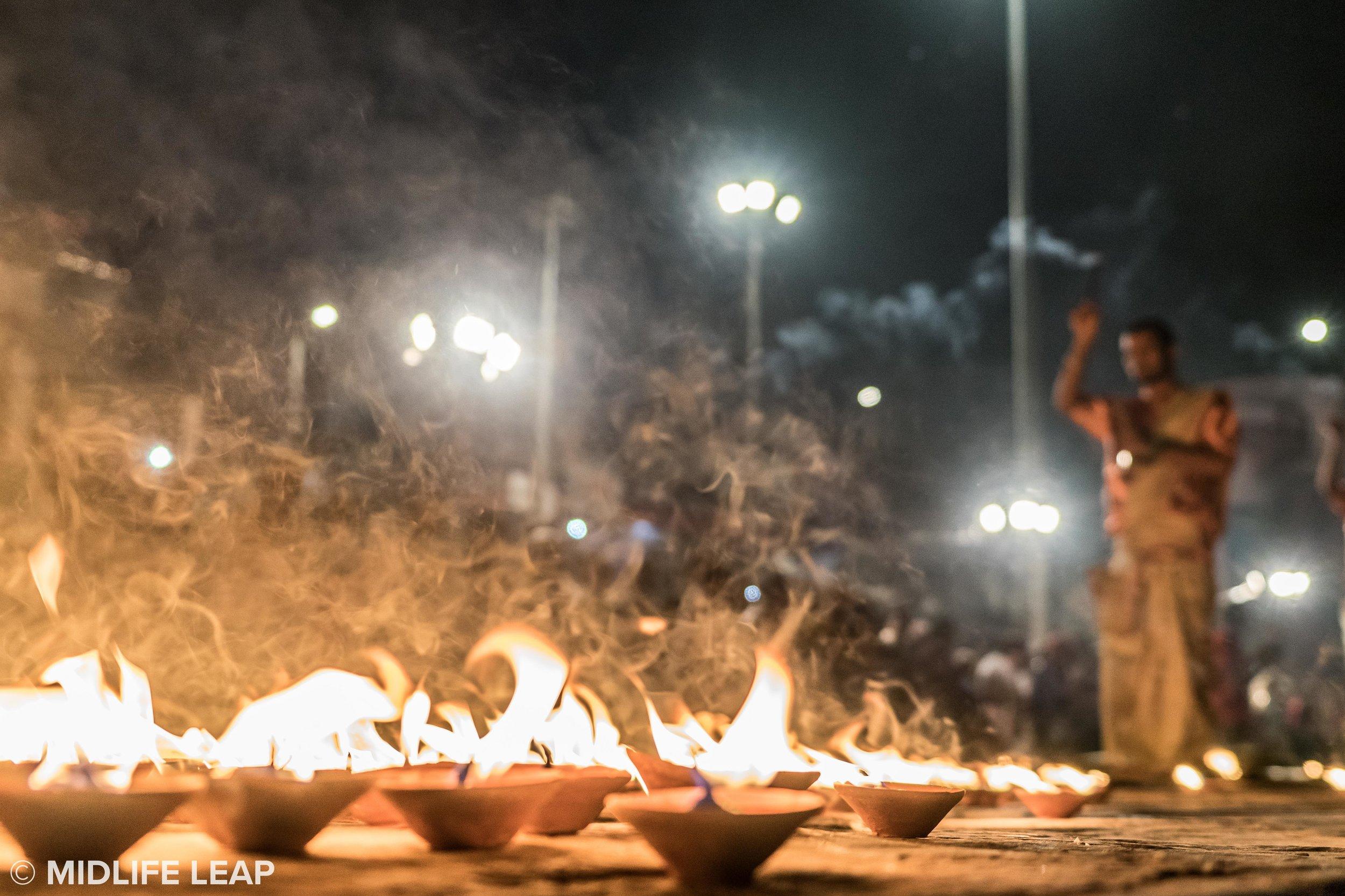 The Ganga Aarti Puja Ceremony