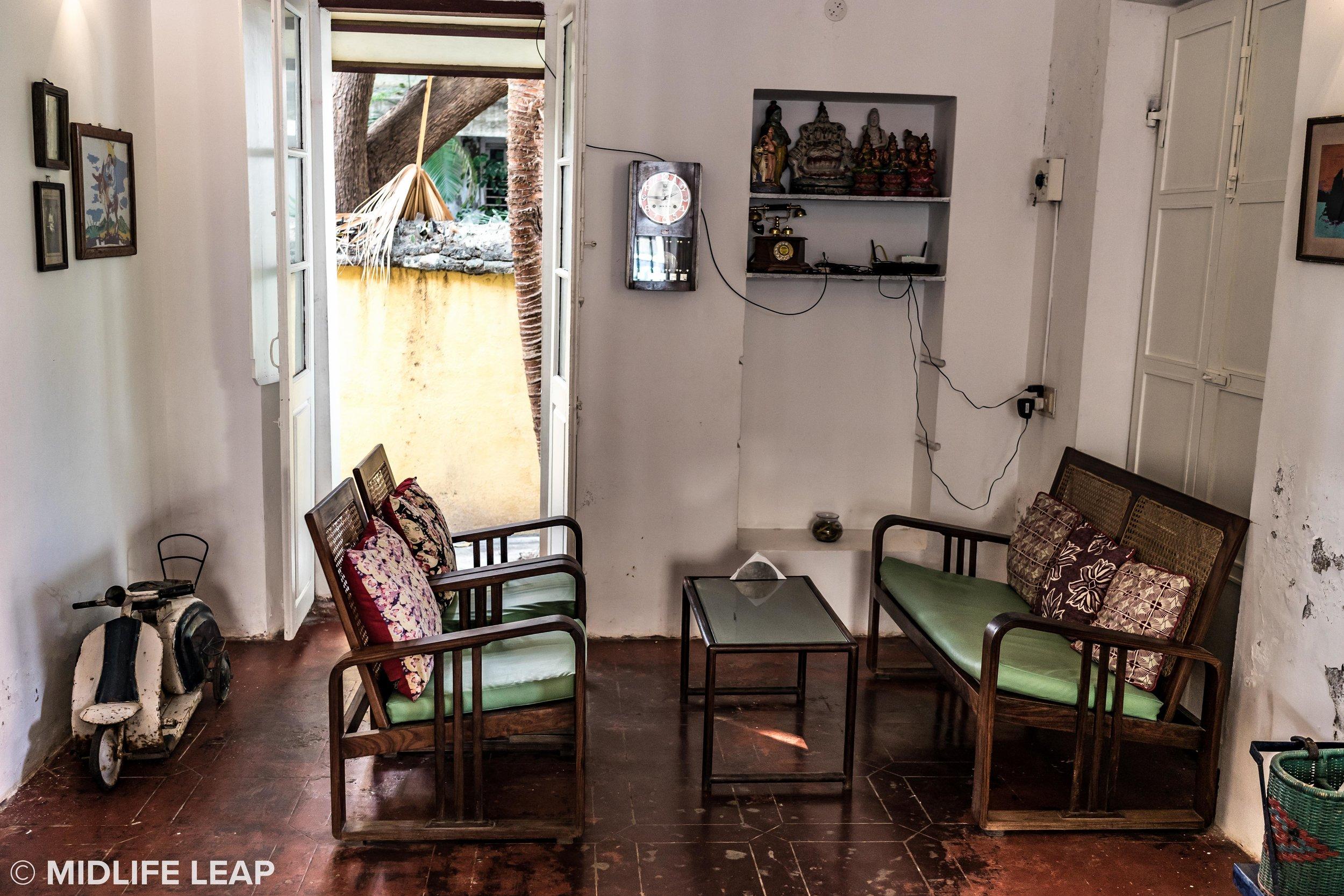 Interior of Cafe Des Arts