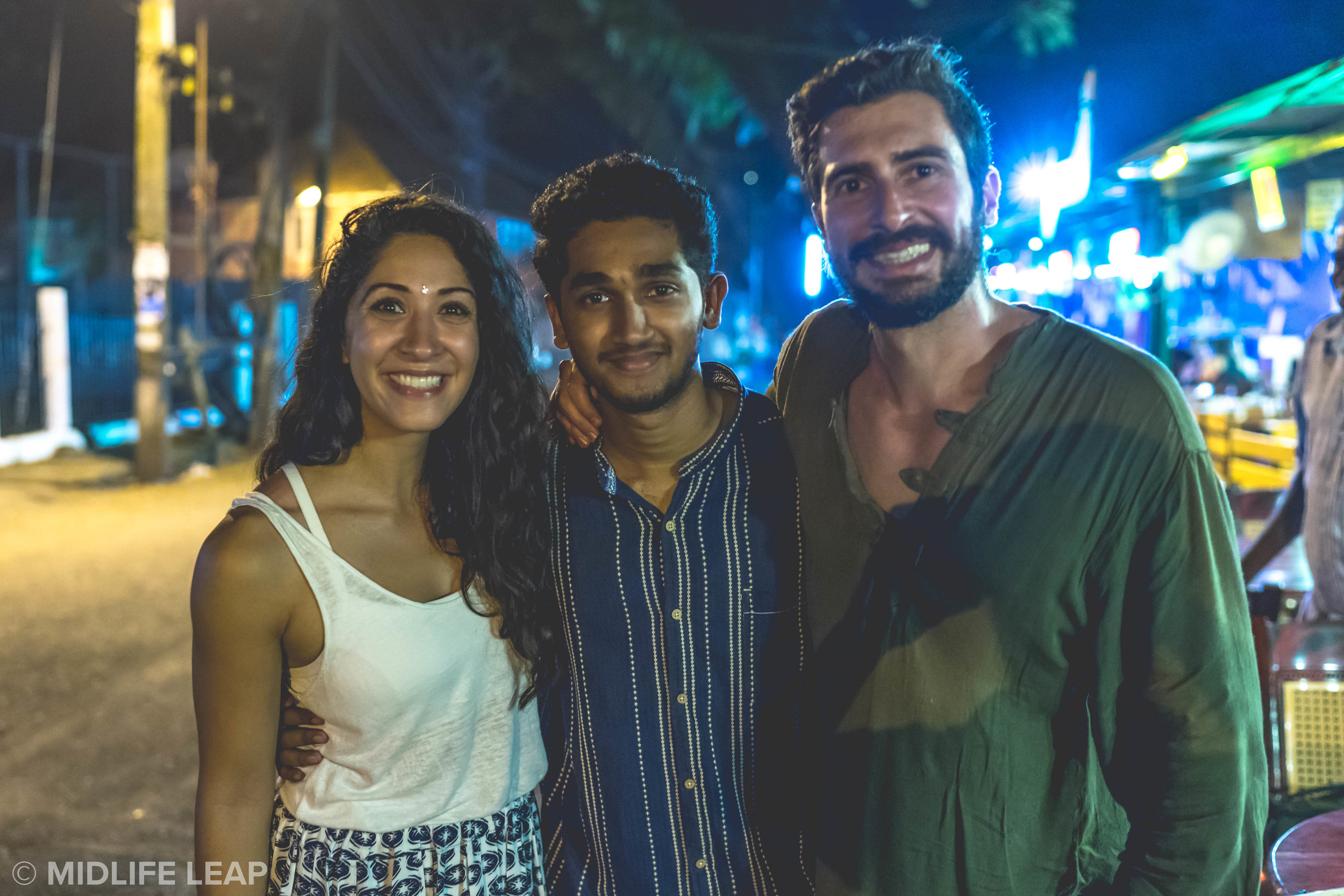 Our buddy Nick who showed us an awesome night in Kochi 💙