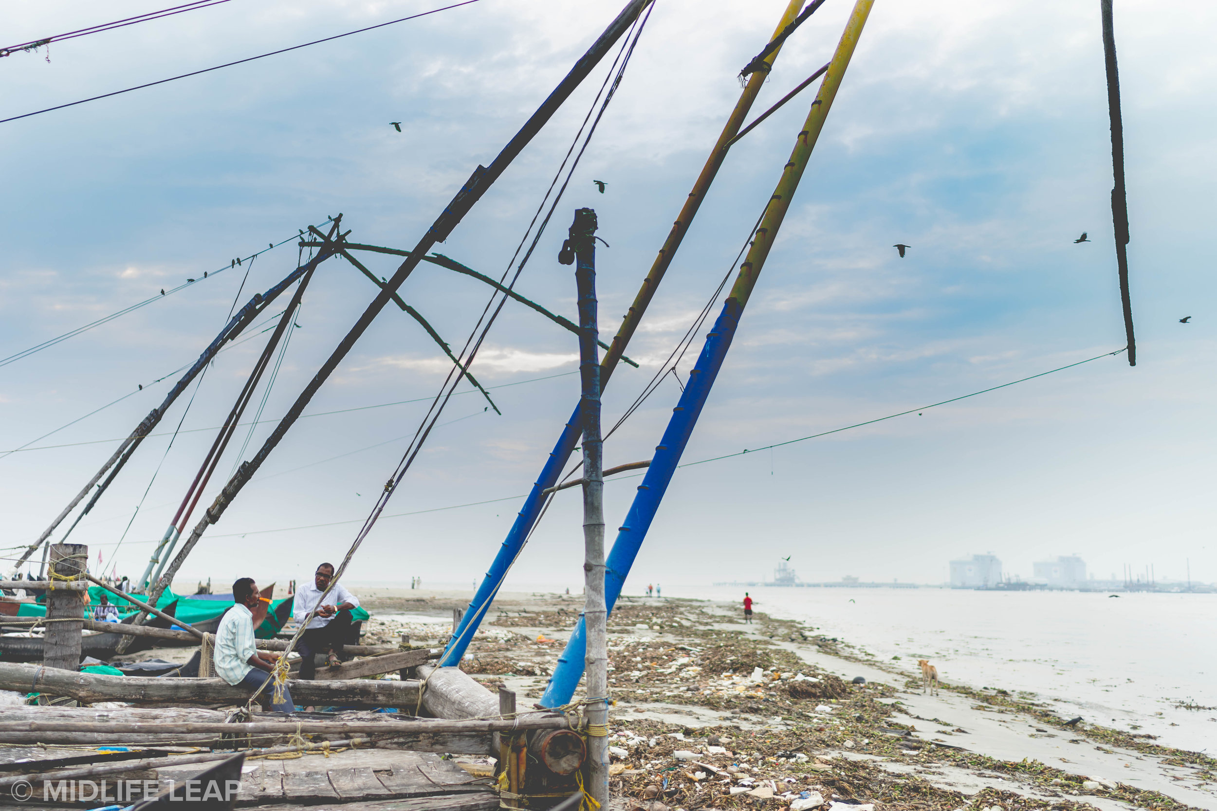 chinese-fishing-nets-kochi-kerela-fort-cochin